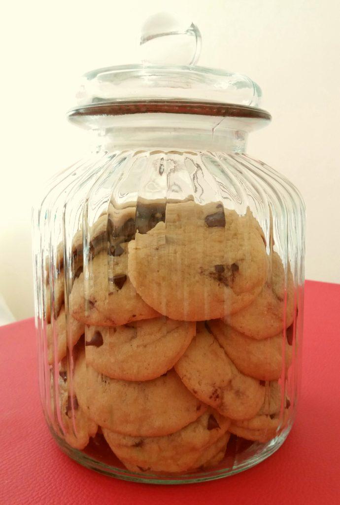 Cookies en el tarro
