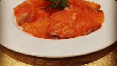 Receta de salmón ahumado casera